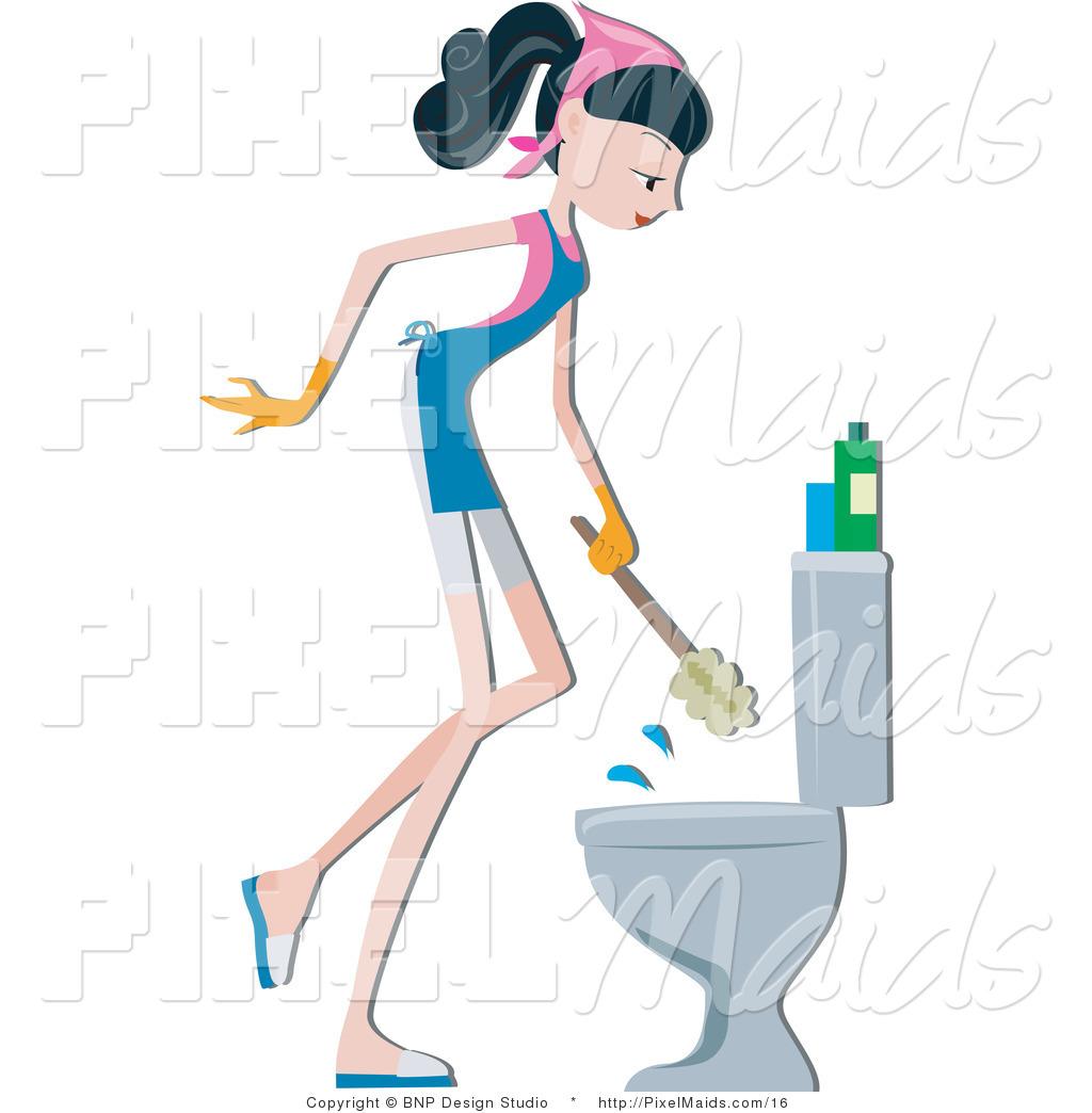 Clean Toilet Clipart - Clipart Kid