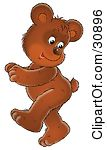 Royalty Free  Rf  Dancing Bear Clipart Illustrations Vector Graphics