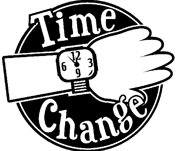 Time Change Clipart Time Change Trinity Lutheran Church