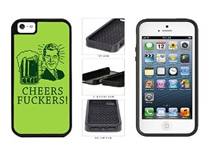 Amazon Com  Funny Cheers Fuckers Clip Art Dual Layer Phone Case Back