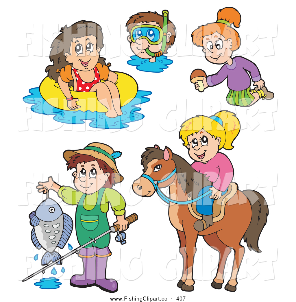 Summer Activities Clipart - Clipart Suggest