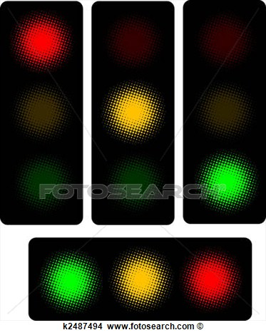 Drawing   Traffic Light  Fotosearch   Search Clip Art Illustrations
