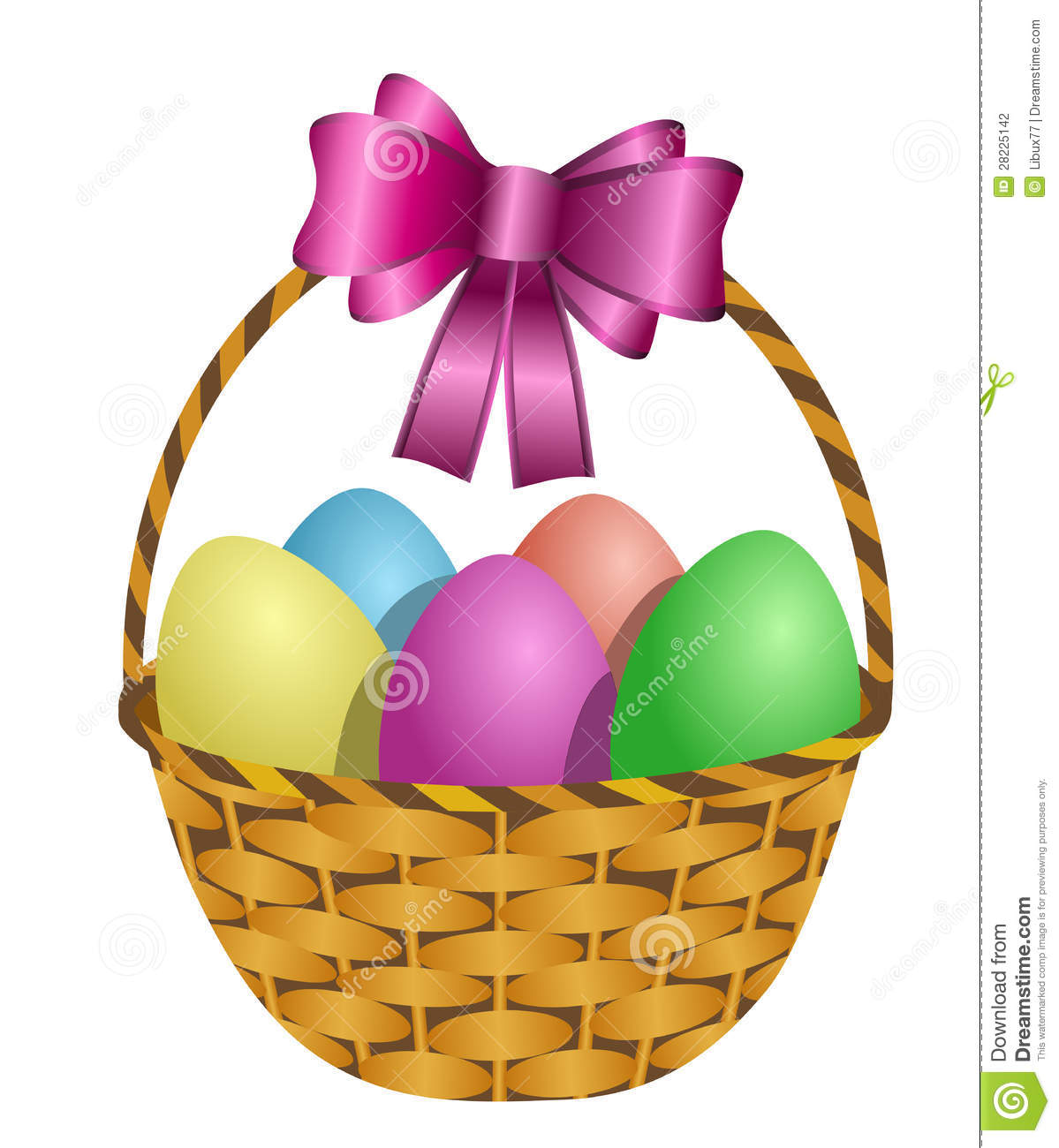 clip art for easter baskets - photo #36