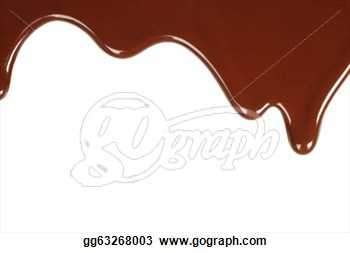 melted chocolate clipart clipart suggest