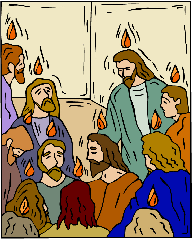 Pentecost Clipart When The Day Of Pentecost Had
