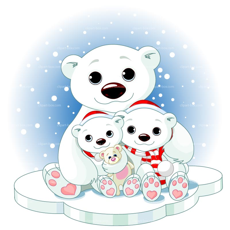 Related Pictures Polar Bear Baby Cartoon Background