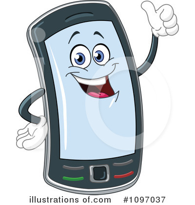 Royalty Free  Rf  Cellphone Clipart Illustration By Yayayoyo   Stock