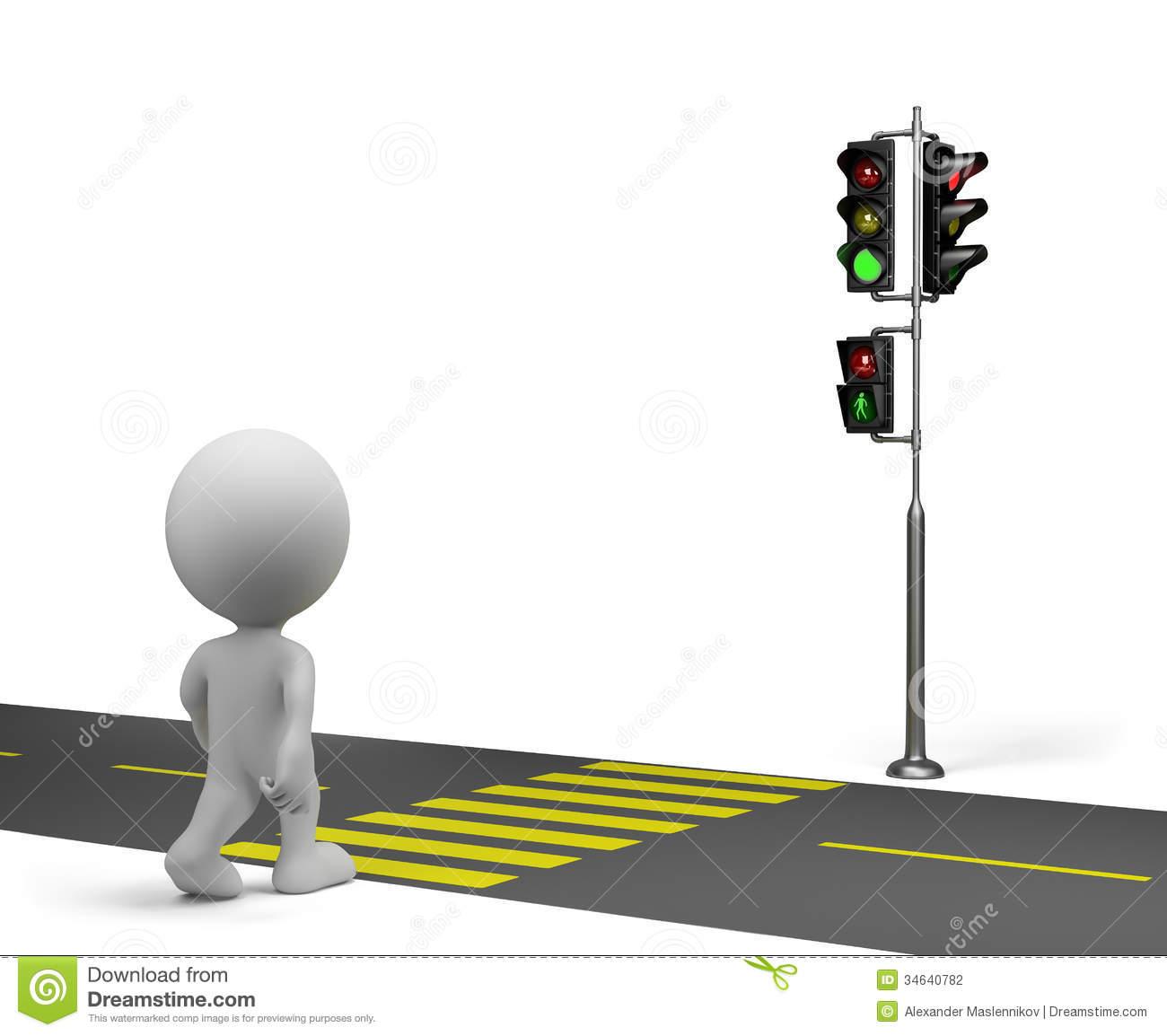 Walk Traffic Light Clipart - Clipart Kid