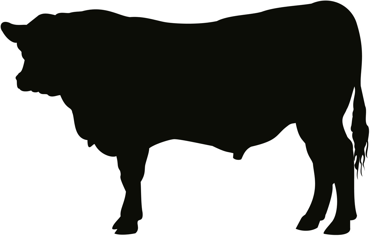 Cattle Silhouette Clipart