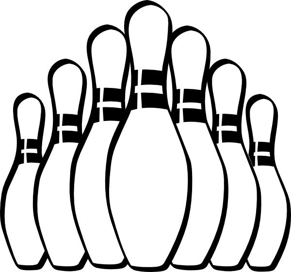 Bowling Pins   Free Cliparts That You Can Download To You Computer