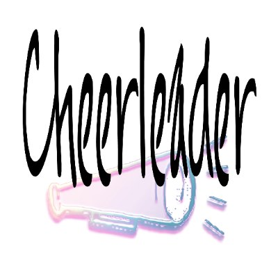 Cheerleading Toe Touch Clipart