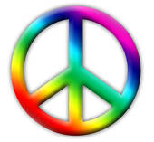 Colorful Peace Sign Clipart   Clipart Panda   Free Clipart Images