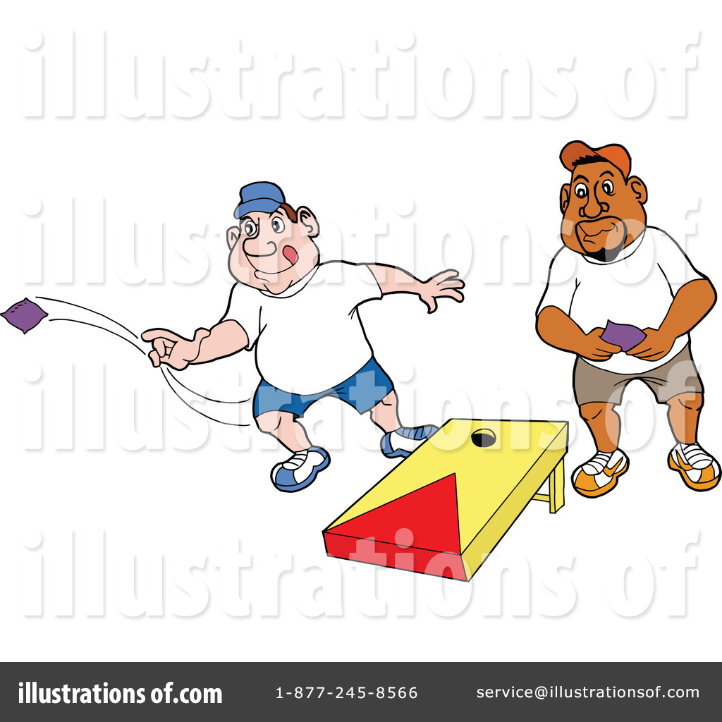 Cornhole Clipart Royalty Free  Rf  Game Clipart