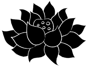 Clip Art Lotus Flower Clip Art clip art black and white lotus flower clipart kid image flower