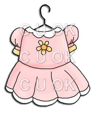 Pink Baby Dress Clipart   Clipart Panda   Free Clipart Images