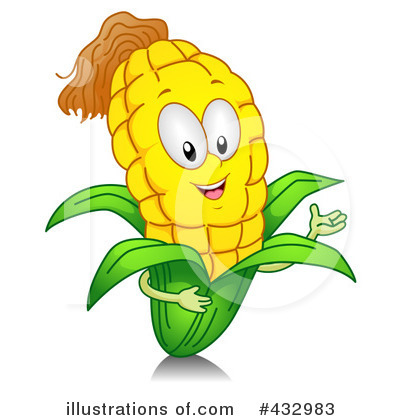 Royalty Free  Rf  Corn Clipart Illustration  432983 By Bnp Design