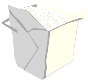 Take Out Box Simple Clip Art At Clker Com   Vector Clip Art Online