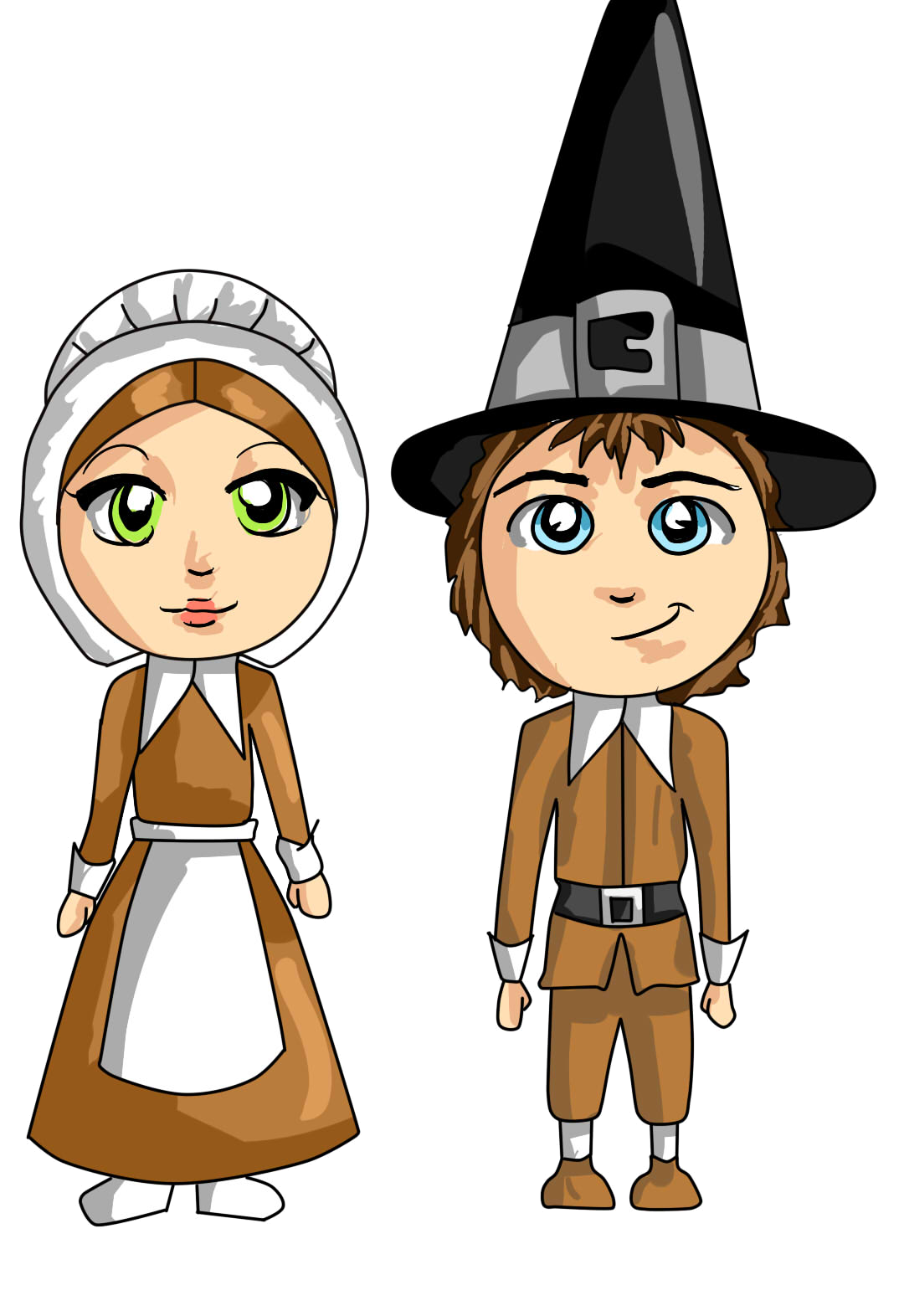 Clip Art Pilgrim Clip Art pilgrim free clipart kid clipartlord com exclusive this cute couple clip art is perfect
