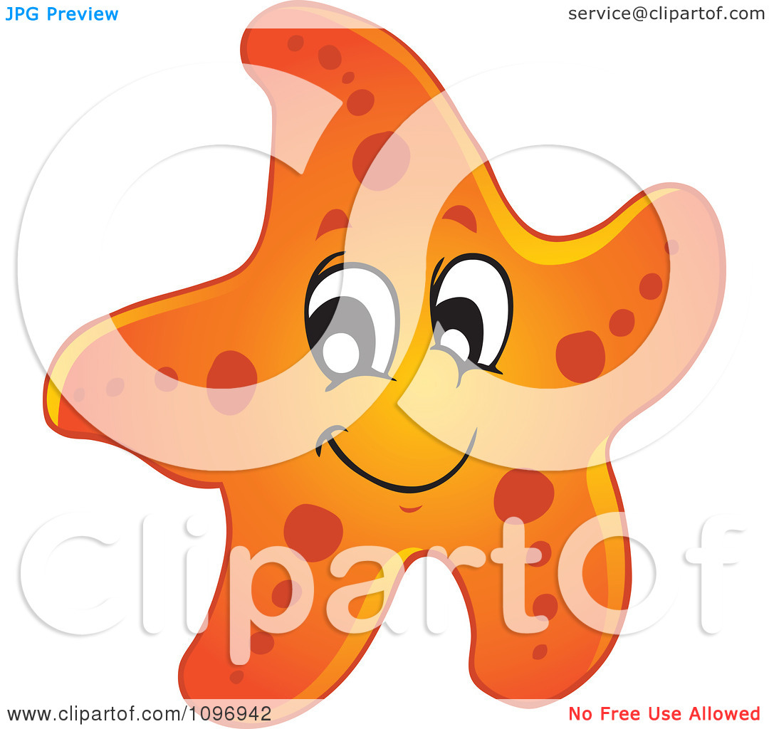 Cute Starfish Clipart   Clipart Panda   Free Clipart Images