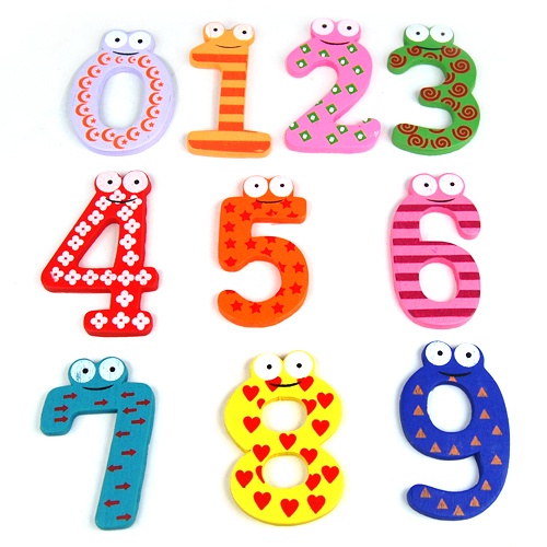 Learning Teaching Magnetic Numbers Fridge Magnets Kids Learning Toys