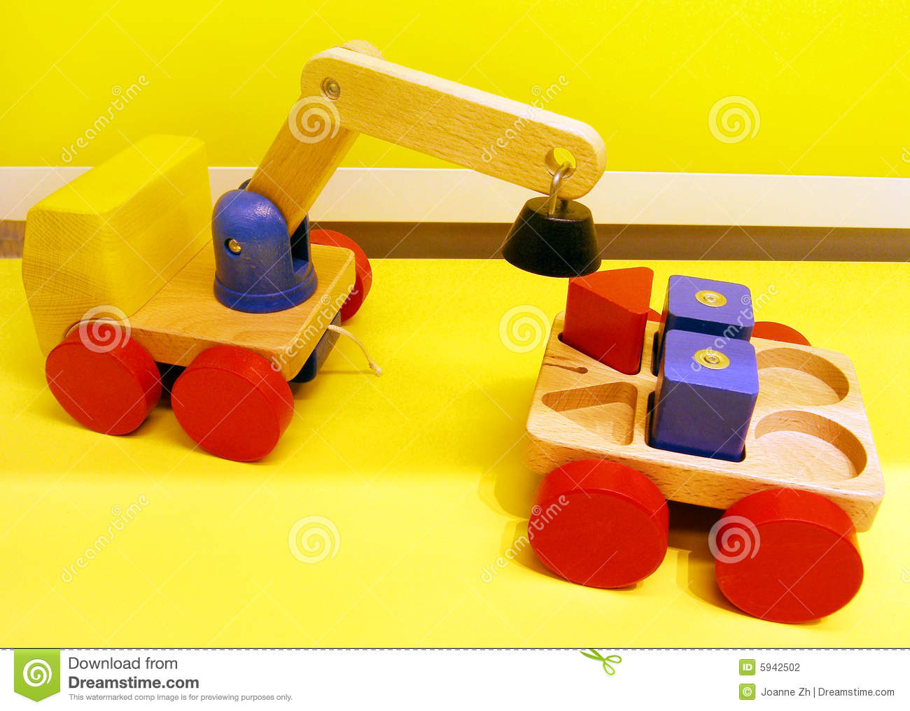 Magnetic Toy Trucks Stock Photography   Image  5942502