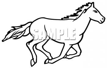 Mustang Mascot Clipart - Clipart Kid