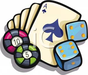 Gambling Chips Clipart - Clipart Kid