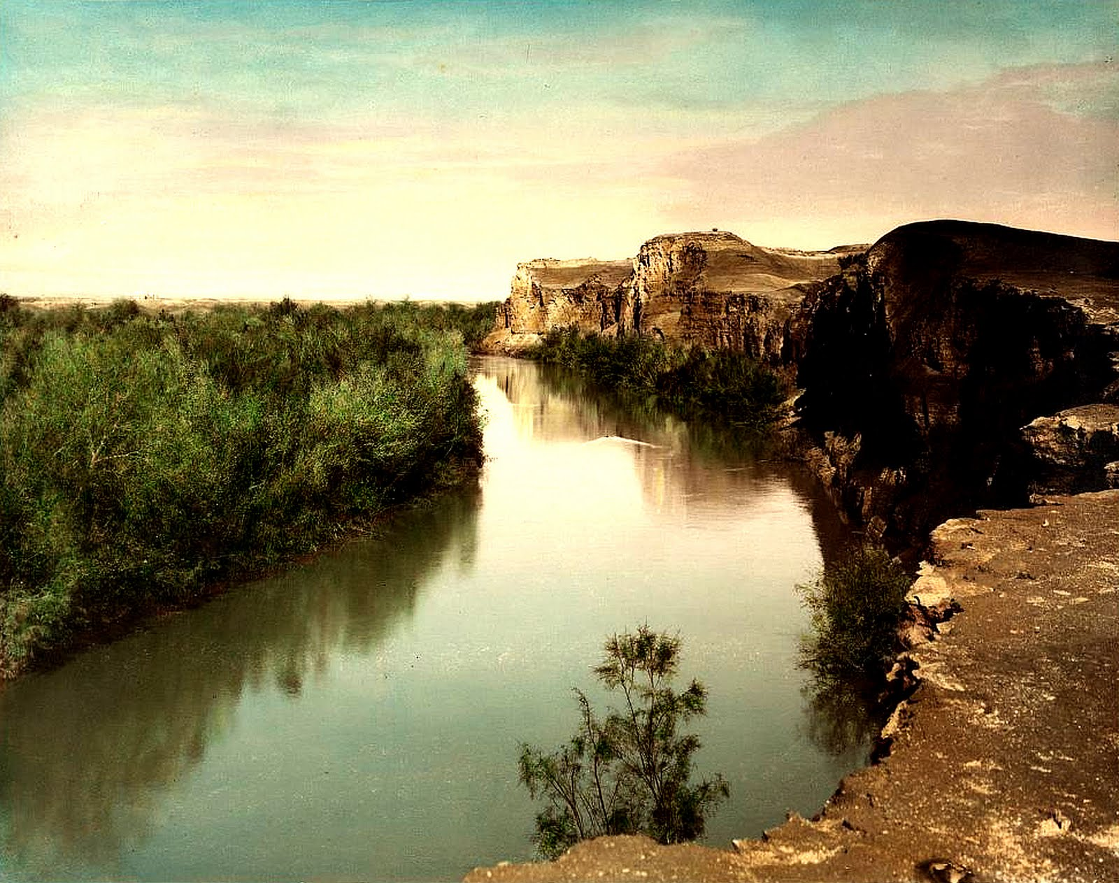 Public Domain Clip Art Photos And Images  Looking Up The River Jordan