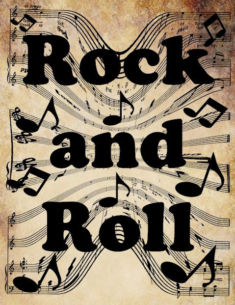 Rock And Roll Clipart - Clipart Kid