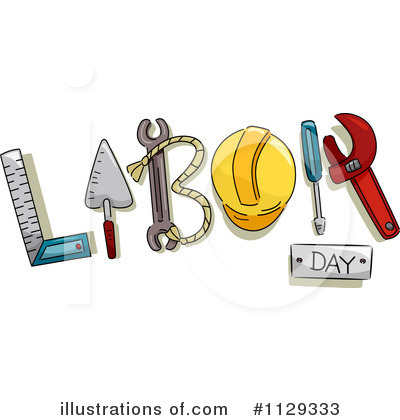 Royalty Free  Rf  Labor Day Clipart Illustration By Bnp Design Studio