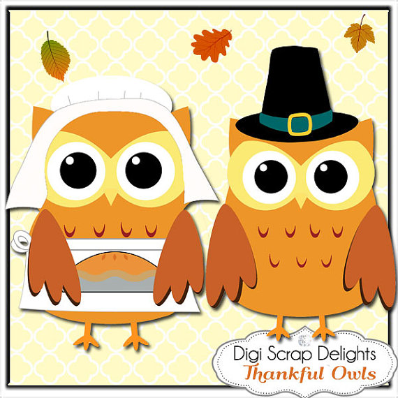 Thanksgiving Owl Clipart - Clipart Suggest