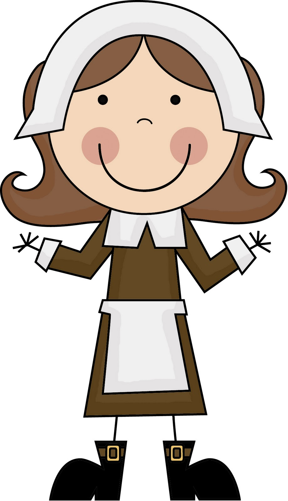 Clip Art Pilgrims Clipart pilgrims and indians clipart kid there are literacy math activities included lots more i
