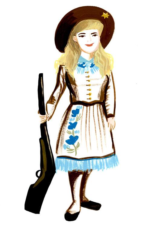 Annie Oakley As A Child