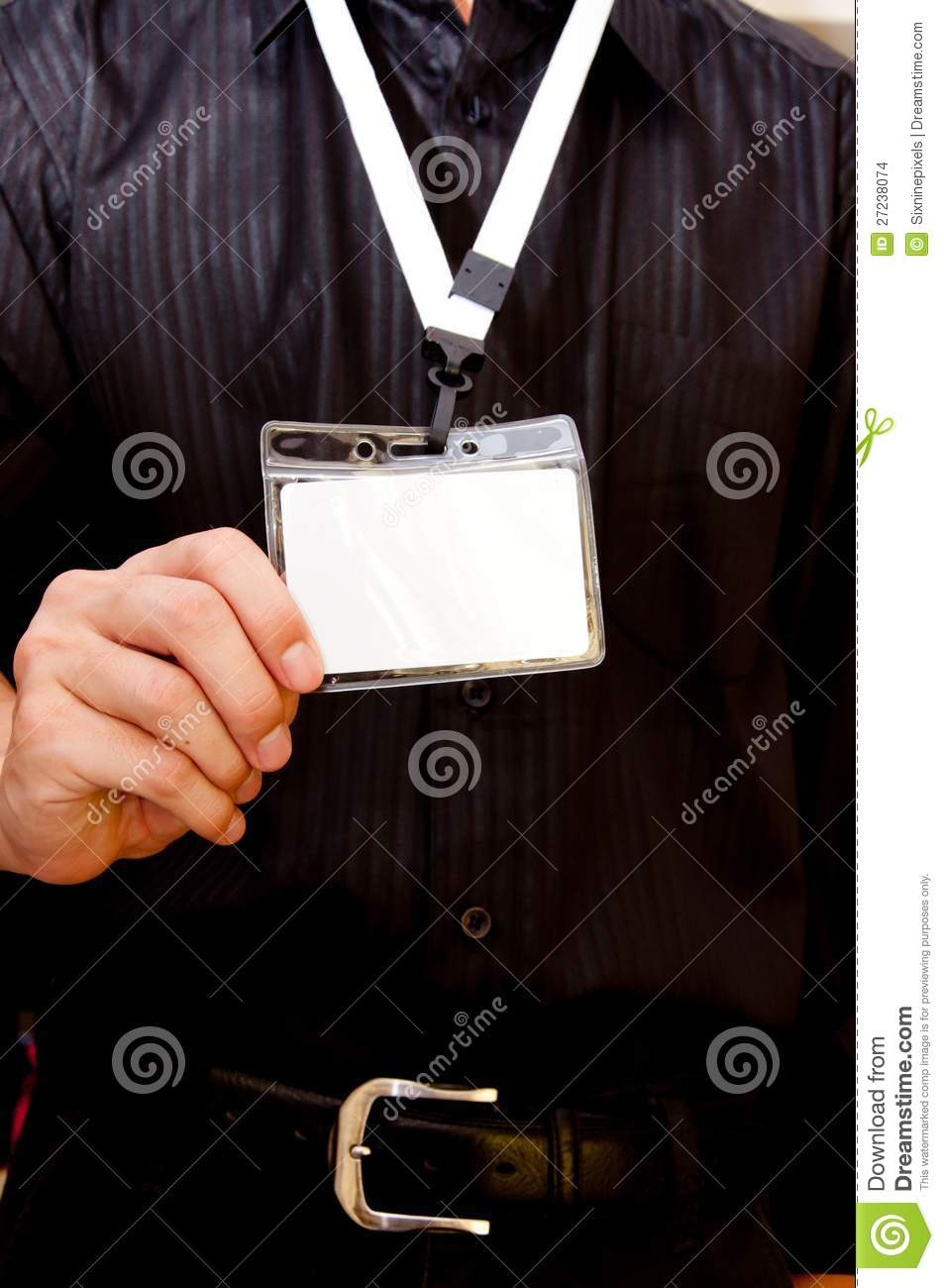 Employee Card Stock Images   Image  27238074