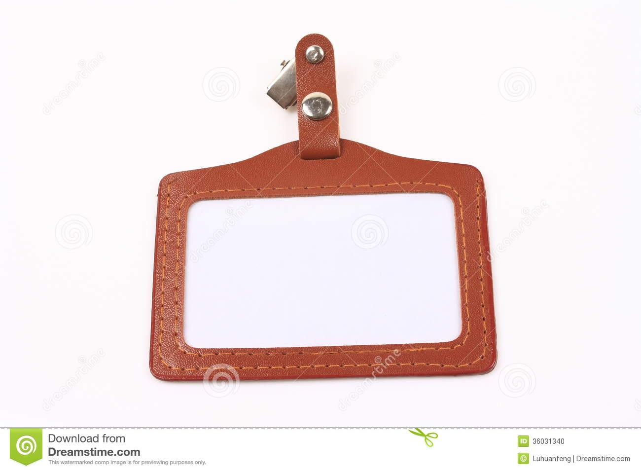 Employee Card Stock Photo   Image  36031340