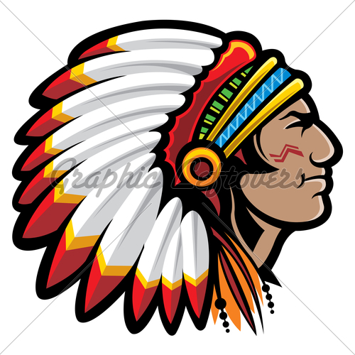 indian chief clipart clipart kid