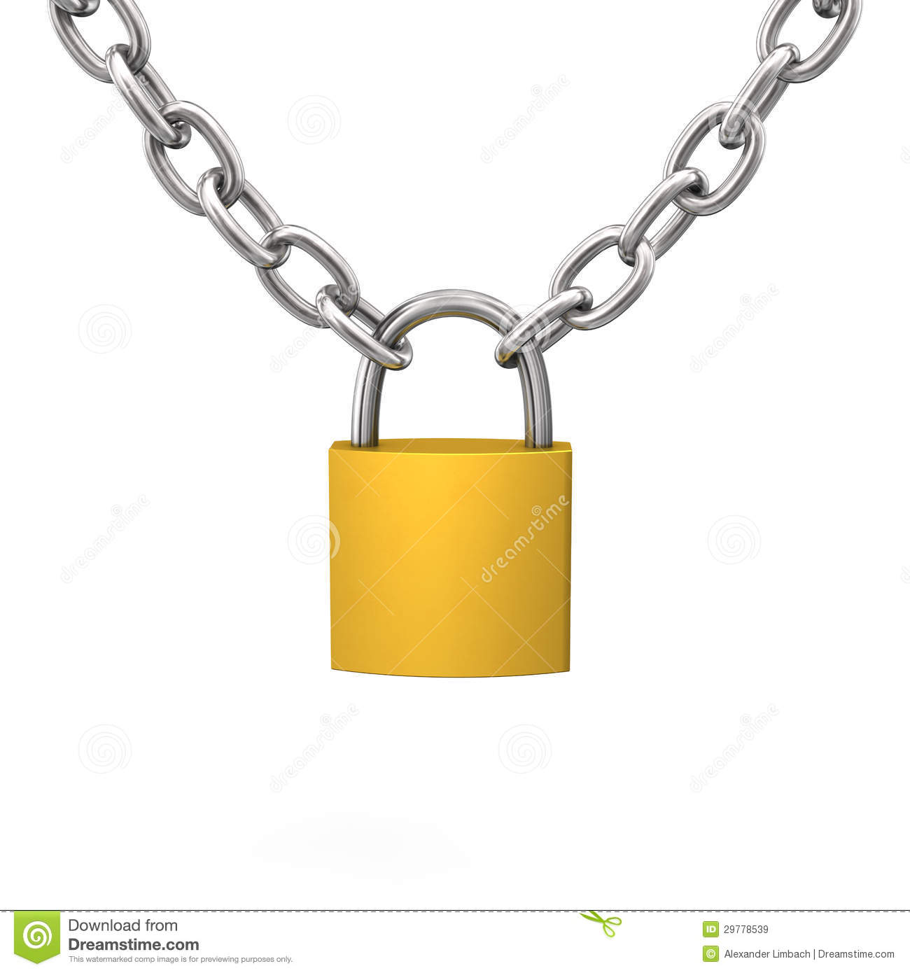 Lock Chain Royalty Free Stock Images   Image  29778539