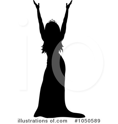 Royalty Free  Rf  Pageant Clipart Illustration By Pams Clipart   Stock