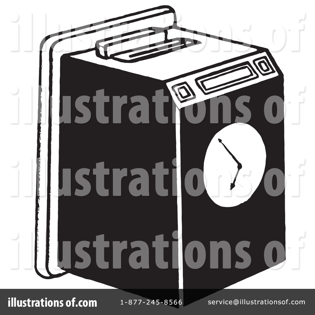 Royalty Free  Rf  Time Clock Clipart Illustration By Picsburg   Stock