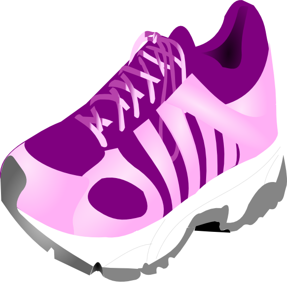 Running Shoes Clipart ...