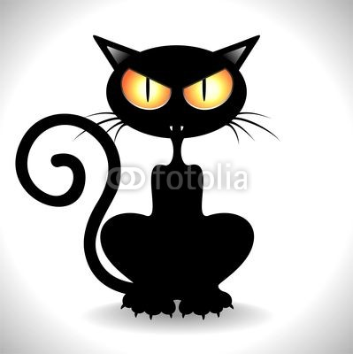 Black Cat Angry   Free Cliparts That You Can Download To You