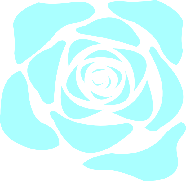 Blue Rose Clipart Flower Pictures Pic  14