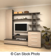 Cabinetry Illustrations And Clipart