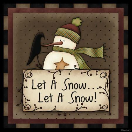 Primitive Snowman Clipart - Clipart Kid
