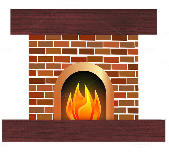 clipart fireplace - photo #1