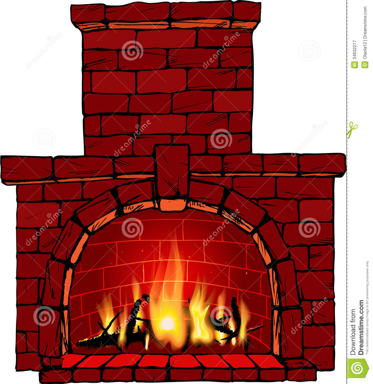 Chimney Repair Clip Art ~ Cozy fireplace clipart suggest