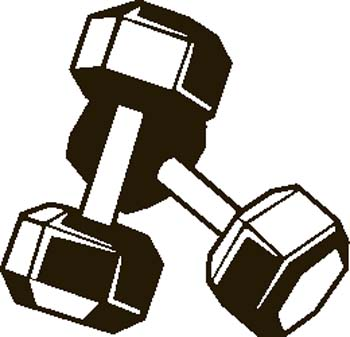 Fitness Clip Art Black And White   Clipart Panda   Free Clipart Images