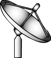 Free Satellite Dish Clipart   Free Clipart Graphics Images And Photos