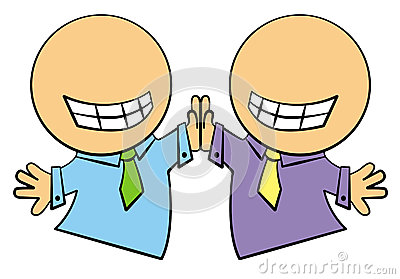 Go Back   Pix For   High Five Clipart