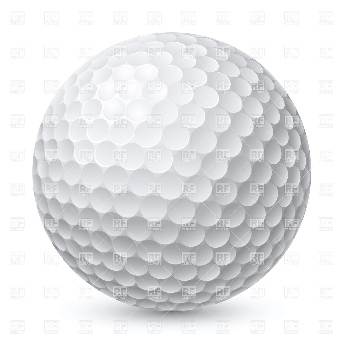 Golf Ball Transparent Background Clipart - Clipart Kid Golf Ball On Tee Clipart